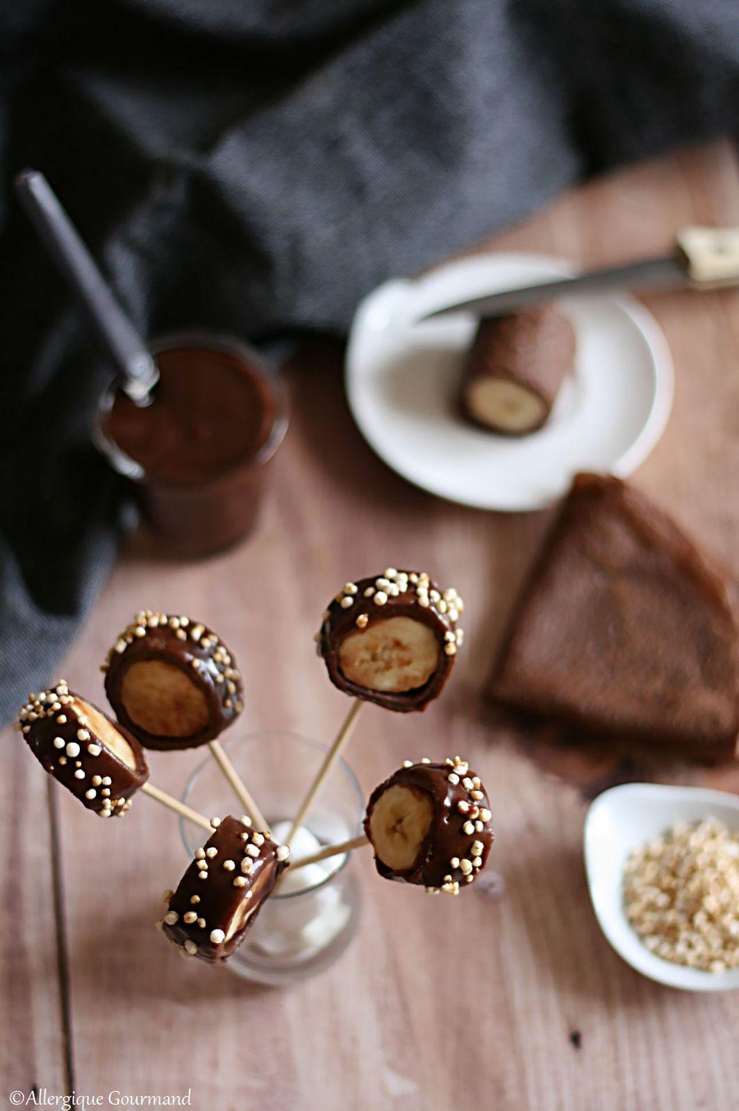 crêpes cacao coco bananes sans gluten sans lait sans œufs