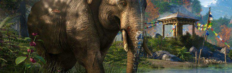 Jeux video: Far Cry 4 nous présente ses Elephants en video ! #UBI