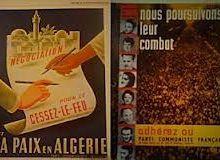 Oui à la Paix ! Déclaration du PCF Paris 15, après la signature des accords d'Evian, mars 1962.