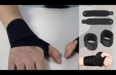 Des bandages réutilisables pour le sport ! Poignets SPORT