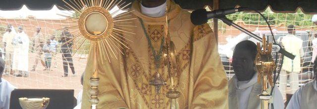 Fête du St Sacrement à Koudougou