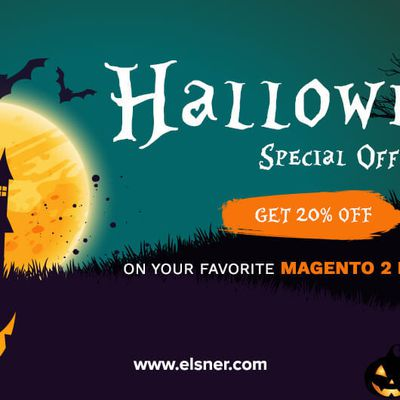 Halloween Fright Fest Deal 2019: Get 20% Off on Your Favorite Magento 2 Extensions