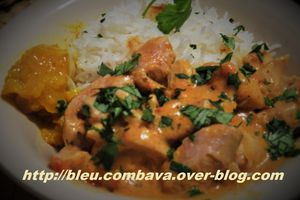Poulet Coco Indian Express