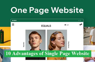 10 Advantages of Single Page Website