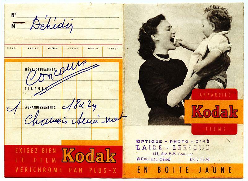 Pochettte des années 1907 à 1980/90 Collection Ph.Pons