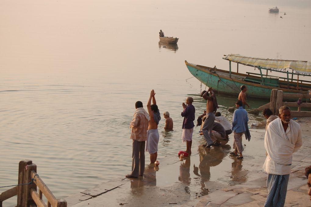 Promenade sur les ghats