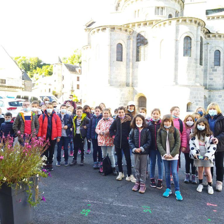 La basilique d'Orcival