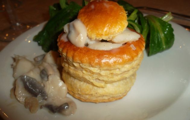 Vol au vent de Saint Jacques