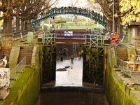 Mise en chômage du canal Saint-Martin