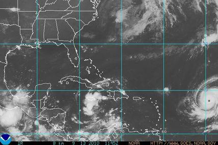 L'ouragan Igor passe en catégorie 4 sur l'échelle de Saffir-Simpson