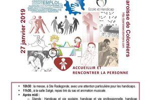 Un dimanche Autrement à Colomiers - le handicap en milieu scoliare et professionnel - 27 janvier