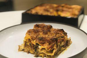 Lasagnes de veau et champignons