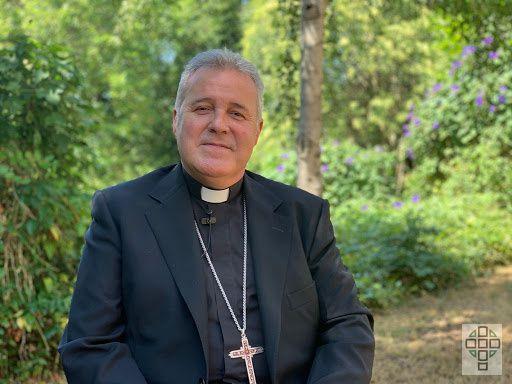 Don Mario Iceta saluda a los burgaleses ante su nombramiento como arzobispo