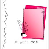 Défi Sketch Carte - Mai 2017 - Scrap & Co - Le blog
