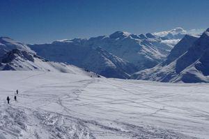 Val d'Isère: Grand Blanc