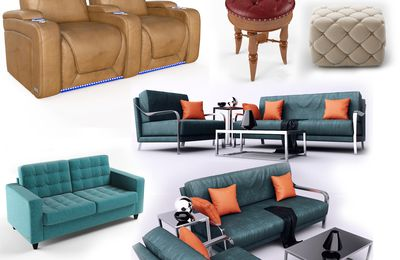 Realistic furniture 3d Product Modeling company & 3d Product visualization services - Denton, Texas