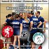 Matchs de Nationale 3 au Badminton Samedi 16 octobre 2021