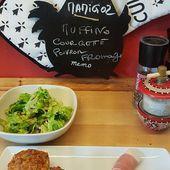 Muffins moelleux au Massalé, du Petit Bistro : courgette, poivron, Emmental - Chez Mamigoz