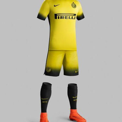 Tercera camisetas Ínter Milán 2015-2016