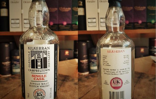 Kilkerran 15Y Single Cask - For U.K. Market
