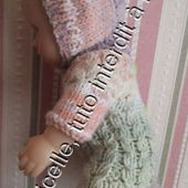 tuto gratuit poupée : bonnet boutonné - Chez Laramicelle