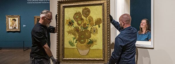 All about Van Gogh and the Sunflowers