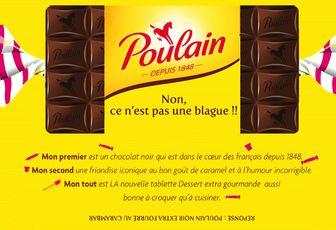 Pour qui le chocolat Poulain noir extra au Carambar ??