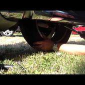 Goldwing Unsersbande - Changer la roue arrière / rear wheel 1800 1