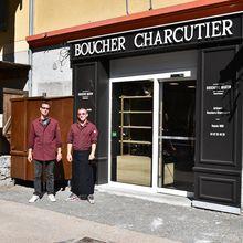 Colmars les Alpes, Réouverture de la Boucherie Charcuterie.
