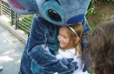 Le bonheur c'est simple comme une grosse peluche ou les rencontres avec les personnages Disney
