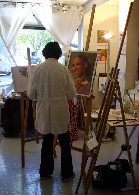 Album - cours de peinture saison2010/2011
