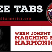 When Johnny Comes Marching Home - Trad - Harmonica C - Le blog du site apprendrelharmonica.com