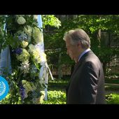 Wreath-laying Ceremony to Honour Fallen Peacekeepers - International Day of UN Peacekeepers 2021