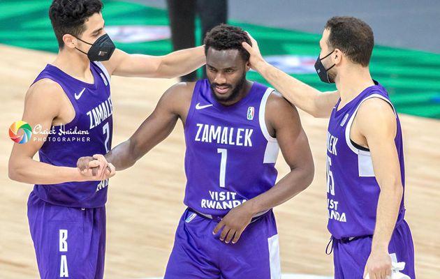 Basketball Africa League : le Zamalek domine l'AS Douanes et rejoint le Ferroviário Maputo en quart de finale