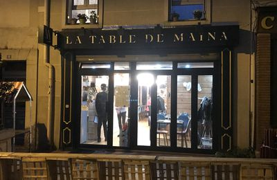 La Table de Maïna (Montrouge) : Convivial voyage