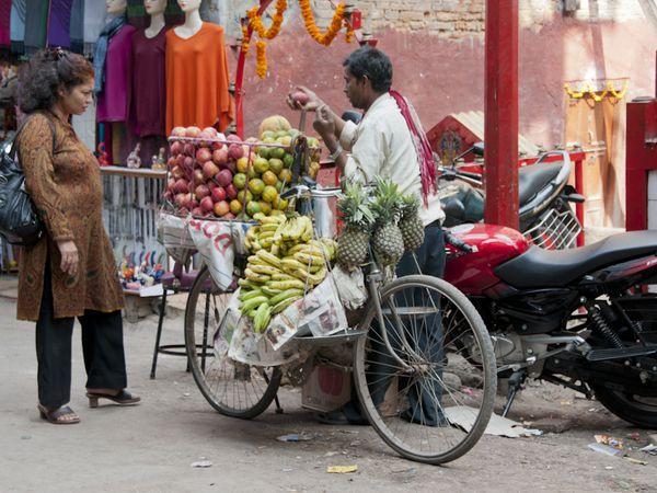 Népal Katmandou Thamel