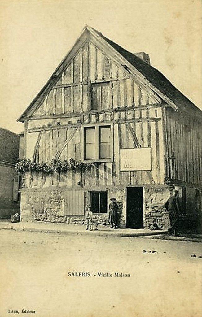 Vieilles Maisons en 1900.