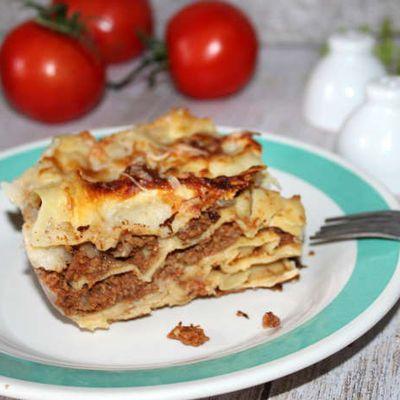 Lasagnes bolognaises