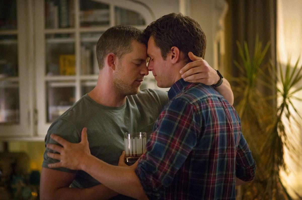 Photo Jonathan Groff, Russell Tovey