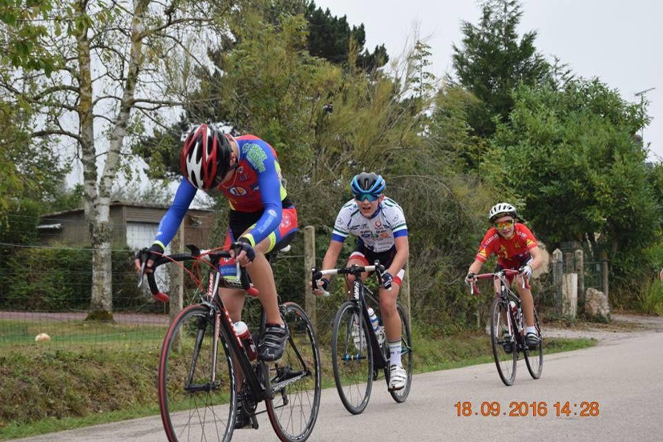 Maxime Jolly (Dreux CC) 5ème à St Symphorien des Bruyères (61)