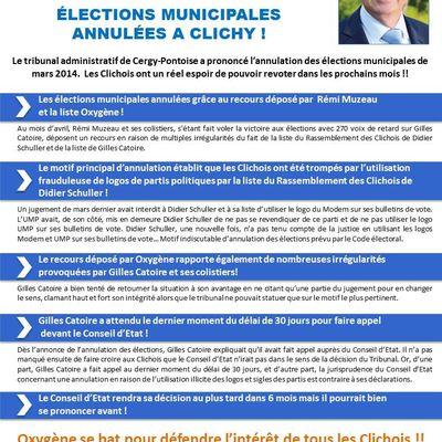 Les élections Municipales annulées