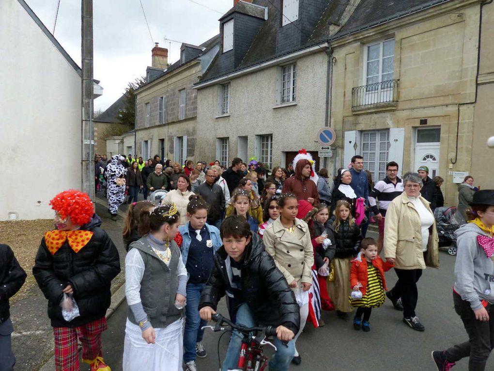 L'école de Saint-Christophe-sur-le-Nais fait son Carnaval
