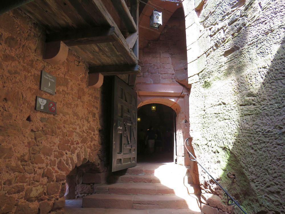 CHATEAU DU HAUT KOENIGSBOURG Le plus connu et le plus visité d'Alsace