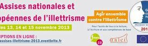 Table Ronde sur l'illettrime au salon de l'éducation - 22 novembre 2013