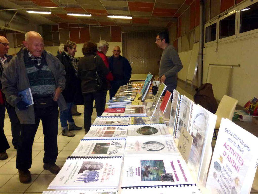 L'exposition présentée dans la salle