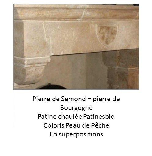 patine naturelle pour pierre