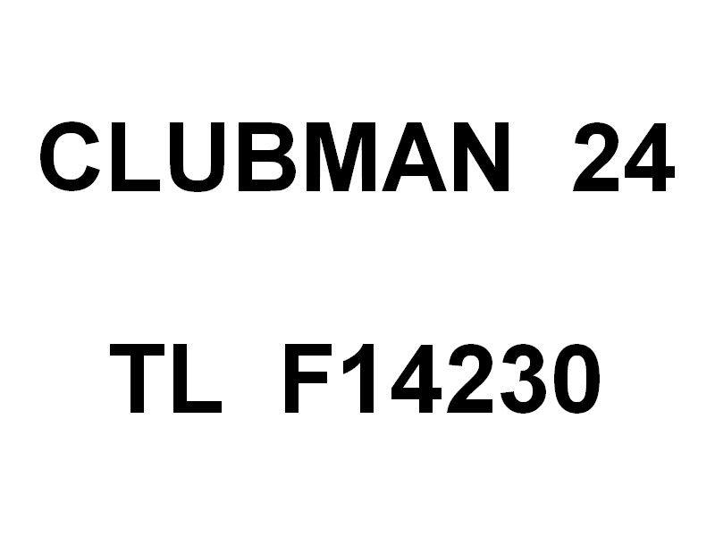 CLUBMAN 24 , TL F14230 ,  dans la darse vieille du port de Toulon le 25 juillet 2019