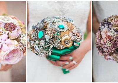 Is the wedding bouquet bright enough at the autumn and winter wedding season?