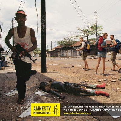 AMNESTY - Campagne réfugiés