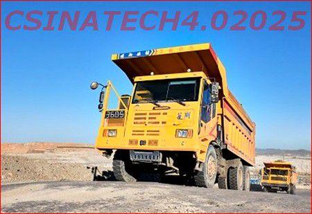 CHINE: camion minier hors-route au marché stratégique.